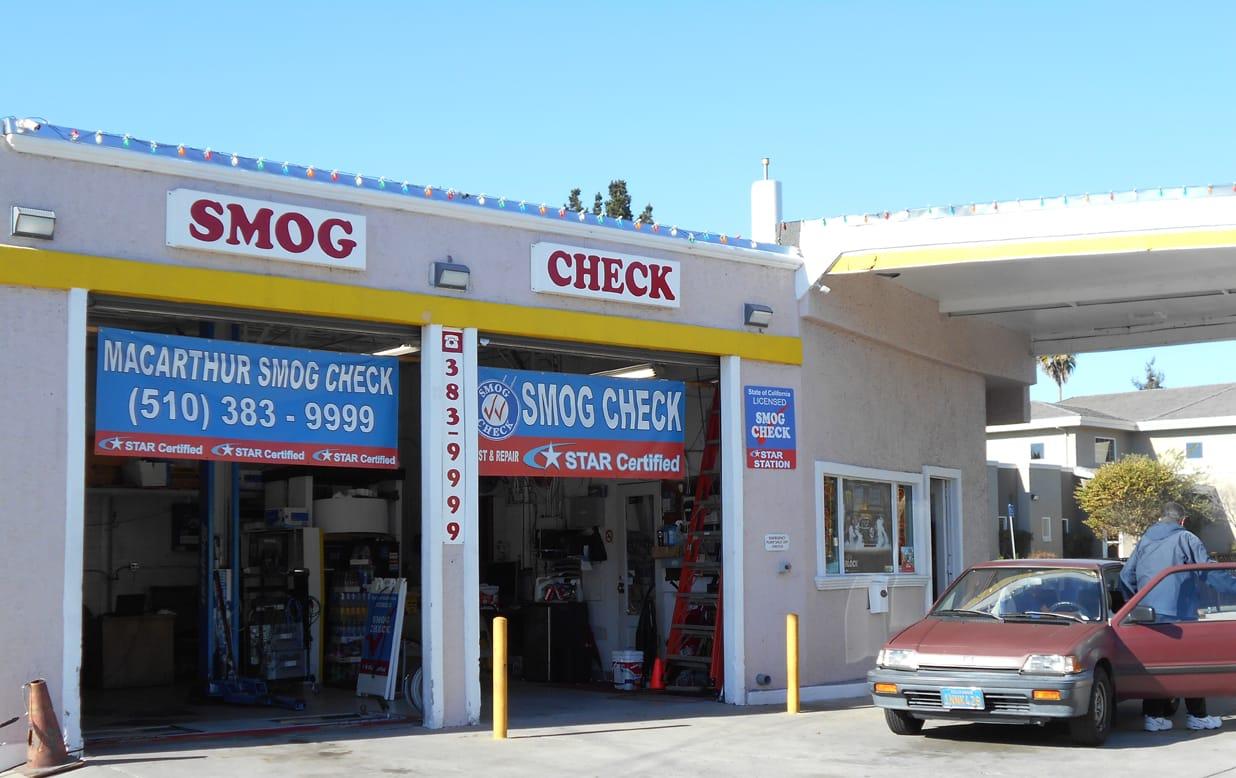 Cheap Smog Check In San Leandro Macarthur Smog Check